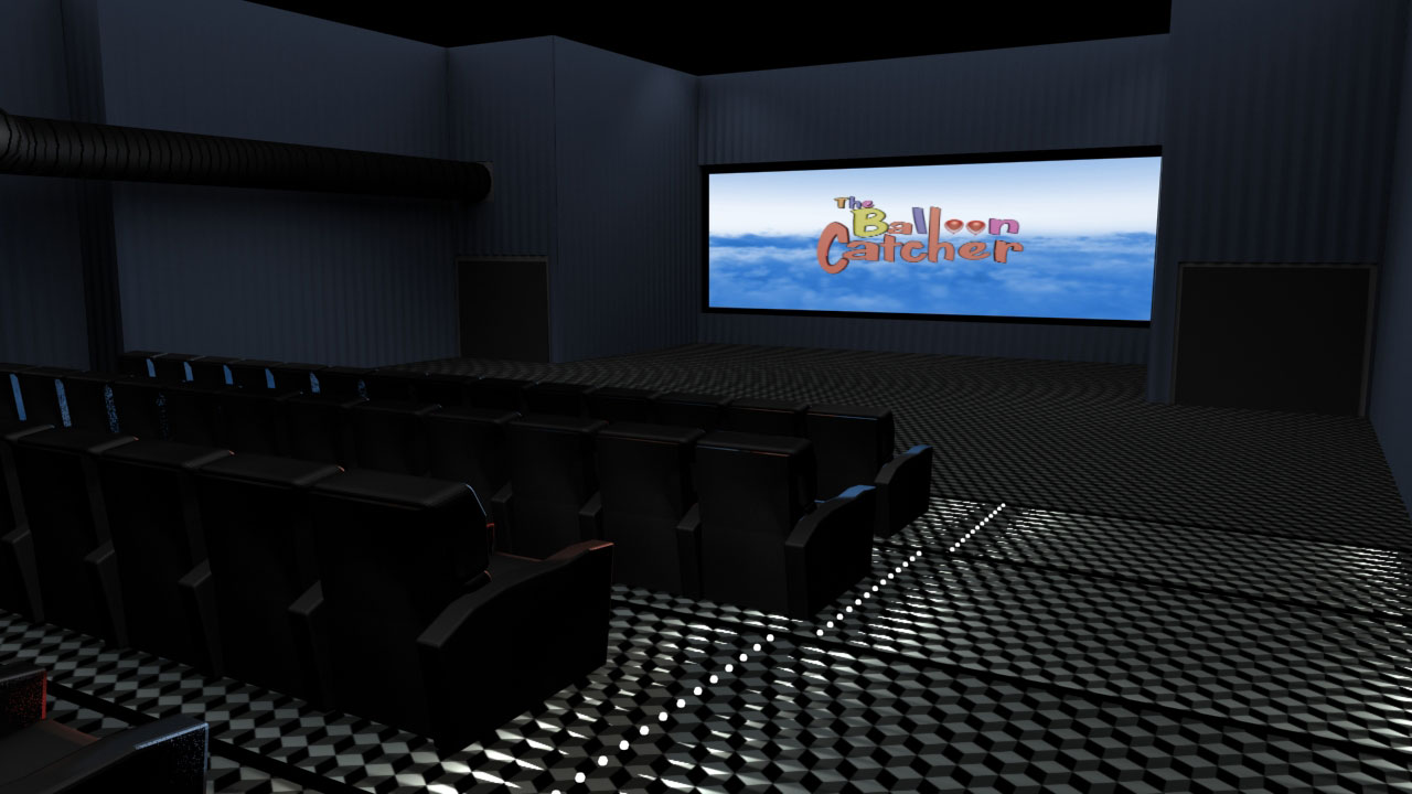 Proposed Theater Upgrade for Inside the Aforementioned Well Known Building in the Salt Lake Valley